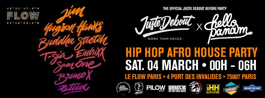 [SOIREE – PARTY] Hello Panam x Juste Debout