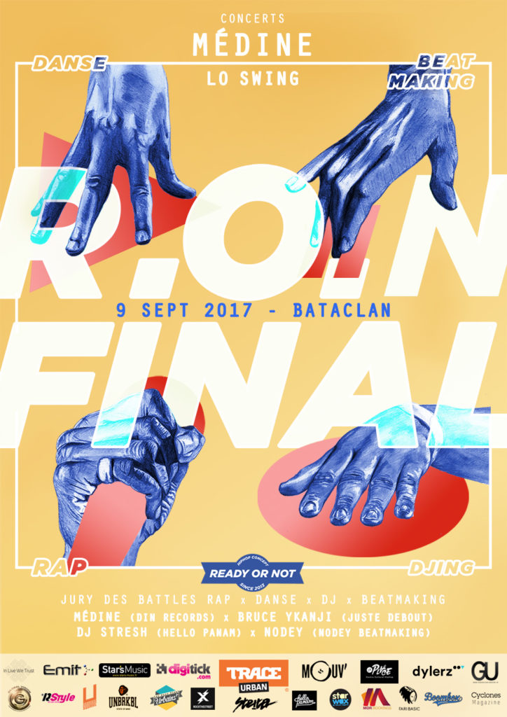 Affiche officielle RON FINAL 2017 Bataclan