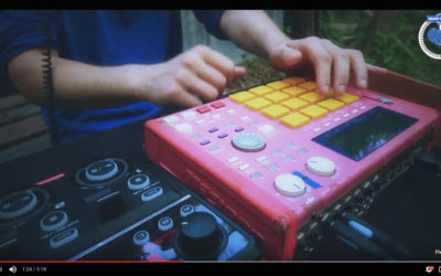 [BEATMAKING VIDEO] Live Performing ! #HandMadeBeatz