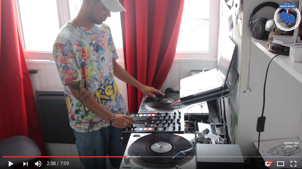 [DJING VIDEO] 2eme round pour DJ Walkman !
