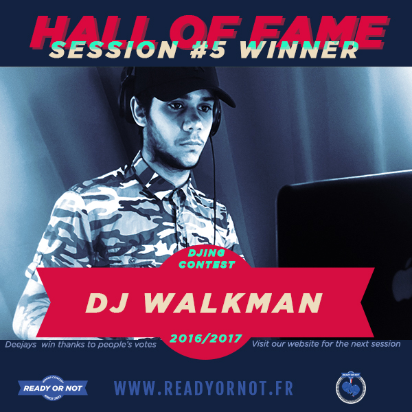dj walkman session 5 ron concept