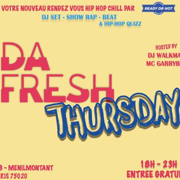 Soirée - DA FRESH THURSDAY