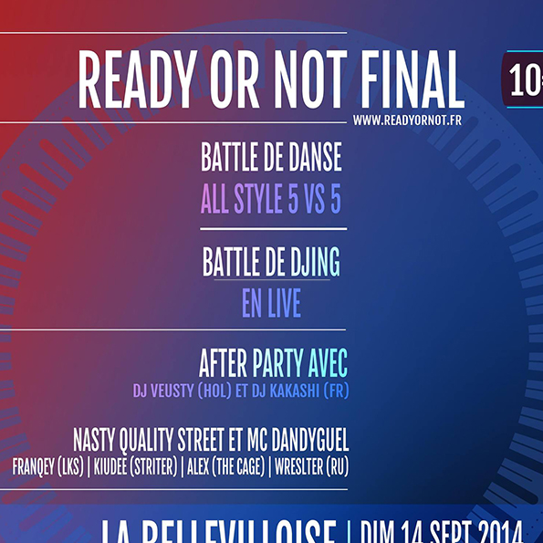 Evenement - RON FINAL 2014