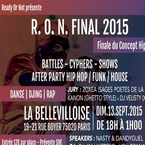 Evenement - RON FINAL 2015