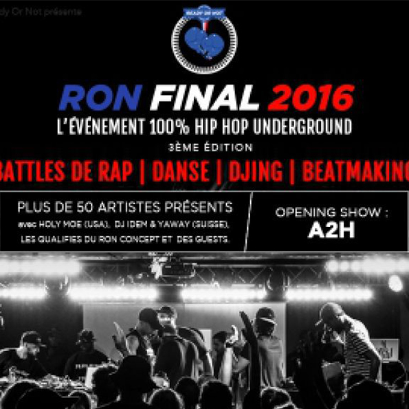 Evenement - RON FINAL 2016